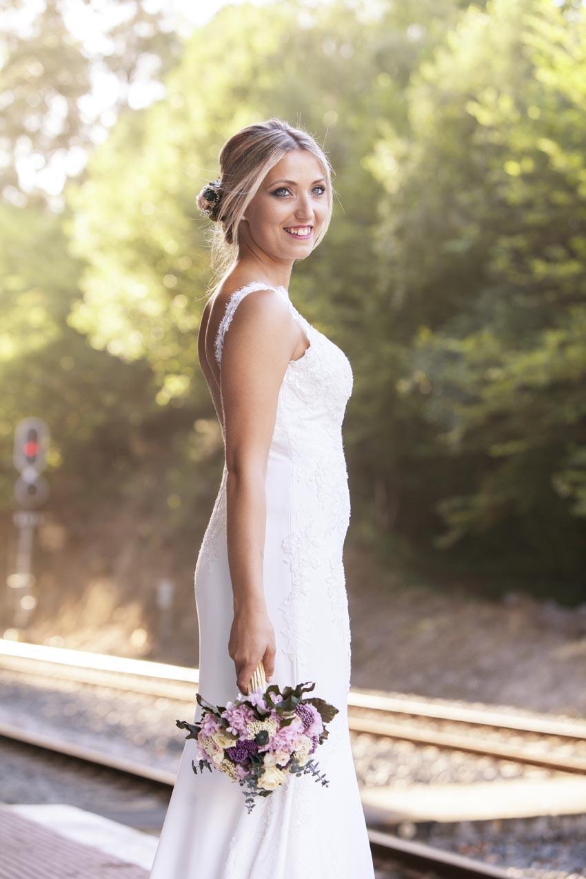 Posado novia boda