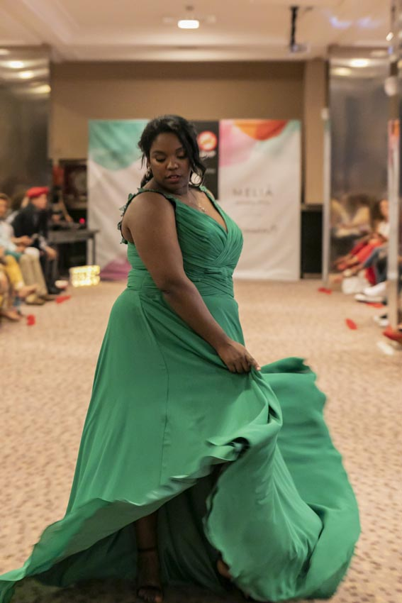 Desfile de moda curvy