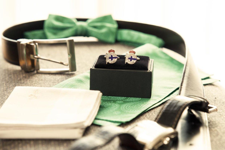 Detalles del novio boda